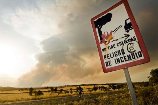 ESPAÑA-INCENDIOS FORESTALES/ZARAGOZA