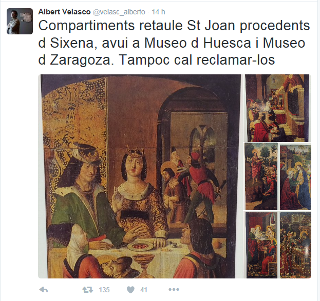 retablo san juan zaragoza y huesca